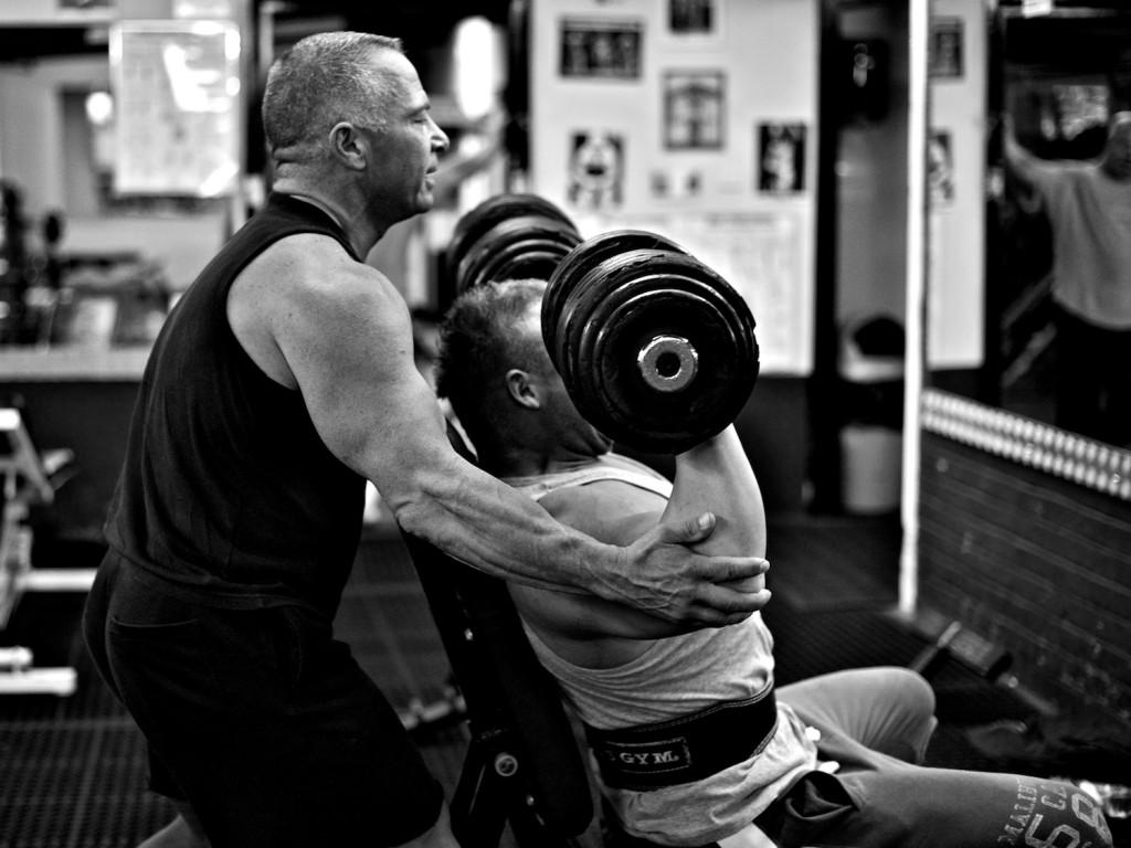 Strong-Athlete: A great training partner is a must