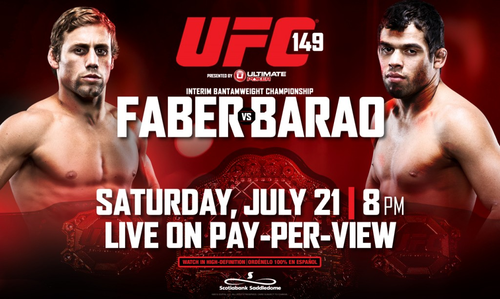 Strong-Athlete.com: UFC 149 Preview by Jeff Pearce
