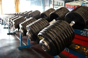 Big Dumbbells.
