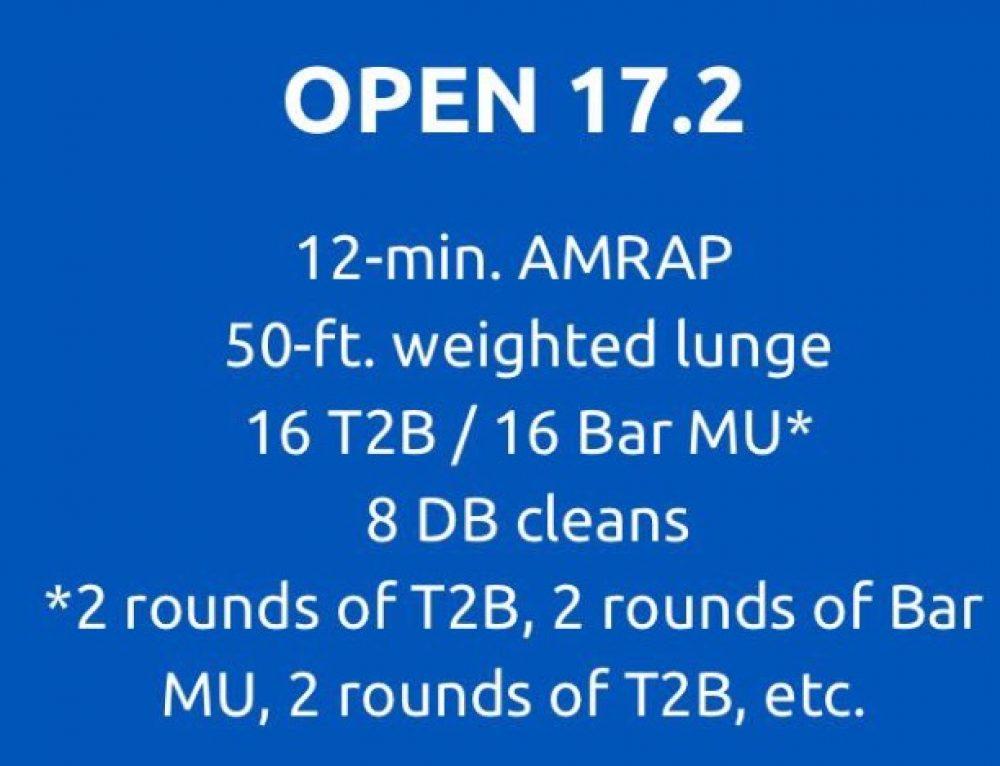 CrossFit Open 17.2