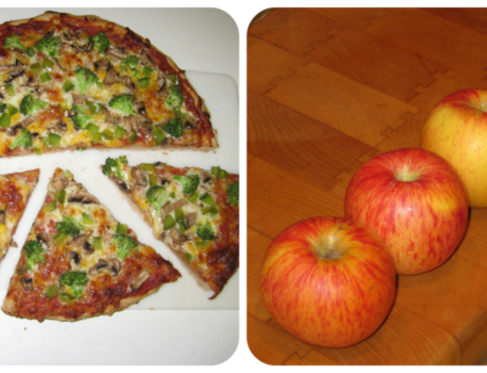 4 Pizza Slices vs. 4 Apples …